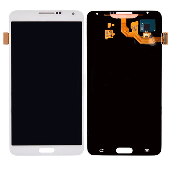 Samsung Galaxy Note 3 N900 N900V N900T White full LCD without frame