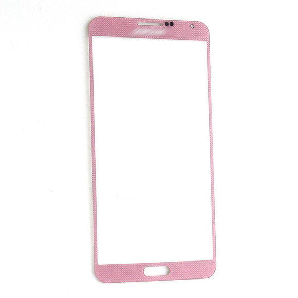 Samsung Galaxy Note 3 N9000 N9005 Glass lens Pink