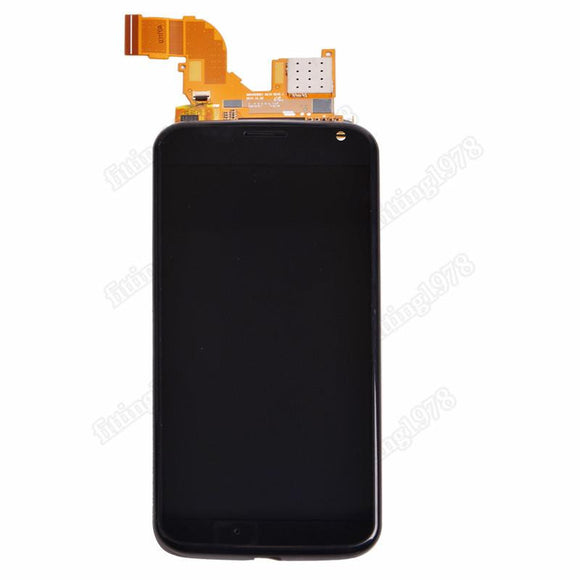 Motorola Moto X XT1060 XT1058 XT1056 XT1053 LCD Display Touch Screen Digitizer Front + Frame Assembly Black Replacement