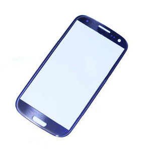 Samsung Galaxy S3 SIII GT-i9300 Blue full LCD with frame