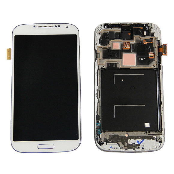 Samsung Galaxy S4 GT-i9500 White full LCD with frame i337