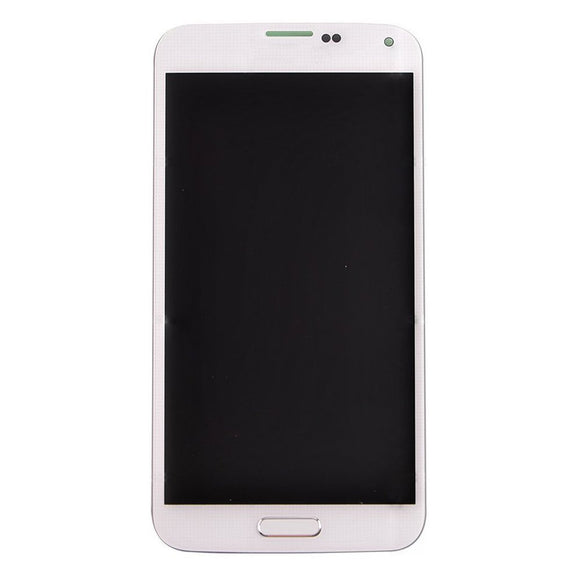 Samsung Galaxy S5 GT-i9600 White full LCD