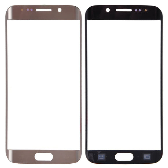 Samsung Galaxy S6 Edge G925 G925A G925T Glass lens Dark Gold