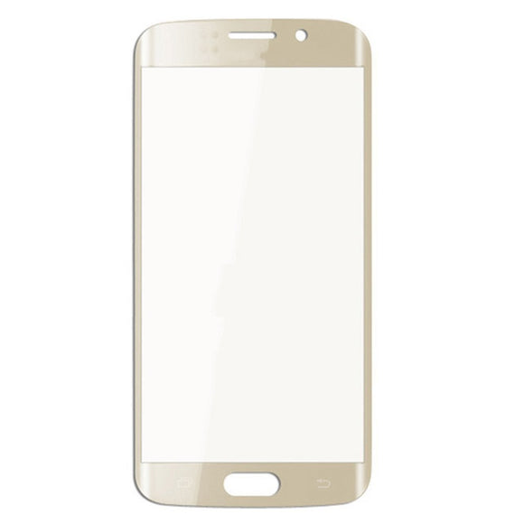 Samsung Galaxy S6 Edge G925 G925A G925T Glass lens White