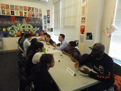 SMART Program - San Francisco - Volunteer Week - FAZE Apparel - 1