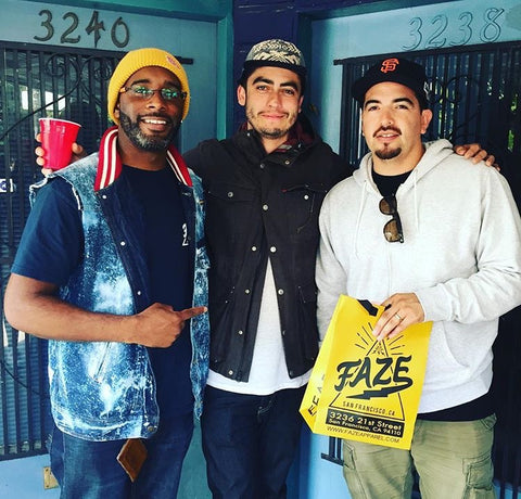 FAZE Apparel - Block Party - Event - San Francisco - FAZE Supporters - Incline Gallery - Art - Mission District - 1