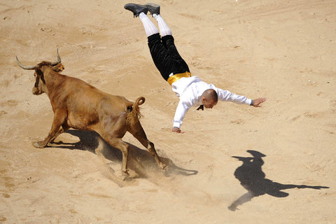 FAZE Apparel - Fearless Pic of the Week - Fearless Friday - The Fearless Leap - matador - 1