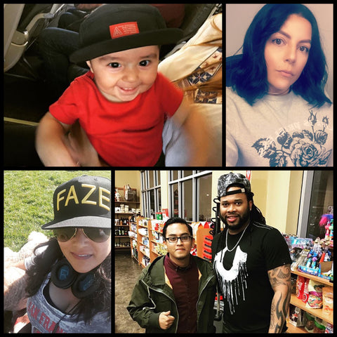 FAZE Apparel - Fearless Spotlight - FAZE Supporters - FAZE'd Out Folks - Family - 7