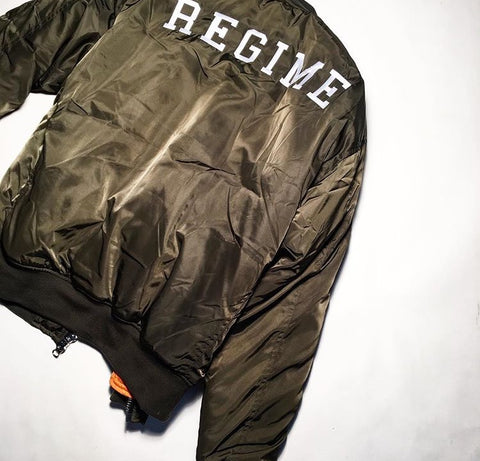 FAZE Apparel - Flagship Store - Civil Regime - Sherpa MA-1 Bomber Jacket - New Products - Now Available - 1