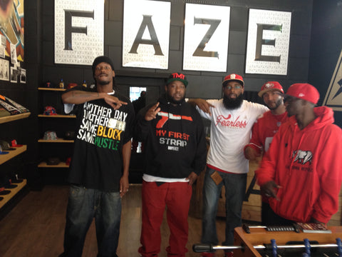 FAZE Apparel - Flagship Store Visit - RIP - The Jacka - Johnny FAZE - 1
