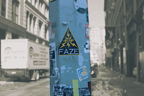 Fearless Friday - Fearless Photo of the Week - Leave Your Mark - New York - Sticker - FAZE Apparel - 1