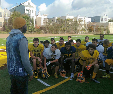 FAZE Apparel - Prep Talk - Mission High School - Varsity Football Team - Turkey Bowl - Speech - 1