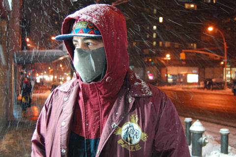 FAZE Apparel - Fearless Pic of the Week - The Fearless Weather The Storm - NYC - Snow Storm - 1