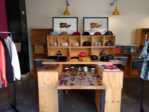 Facebook HQ - FAZE Apparel - Pop-Up  - Event - 1