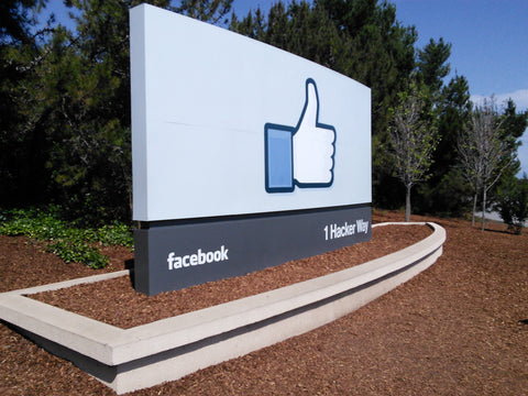 Facebook HQ Sign - FAZE Apparel - Pop-Up Event  - 5