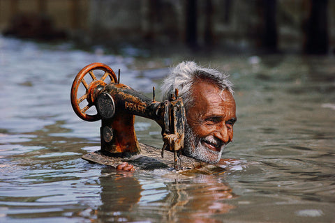 FAZE Apparel - Fearless Friday - Flood Out Fear - What's Your FAZE - Hindi Man - Sewing Machine - Flood Waters - 1