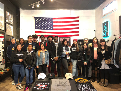 FAZE Apparel - Talk - John O'Connell - High School - Entrepreneurship - Students - Mission District - SF Made - FAZE Flagship - 1