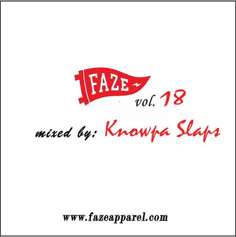 faze apparel - volume 18 - soundcloud - mix - Knowpa Slaps - 1