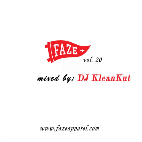 faze apparel - volume 20 - soundcloud - mix - DJ Klean Kut - 1