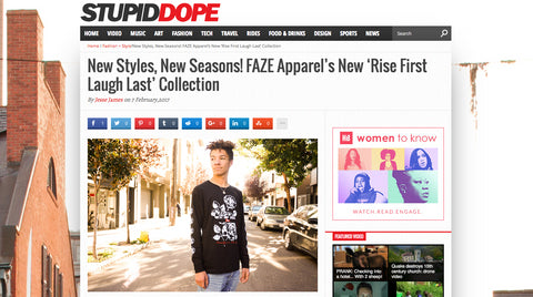 stupiddope - faze apparel - rise first laugh last collection - feature - faze press - 1