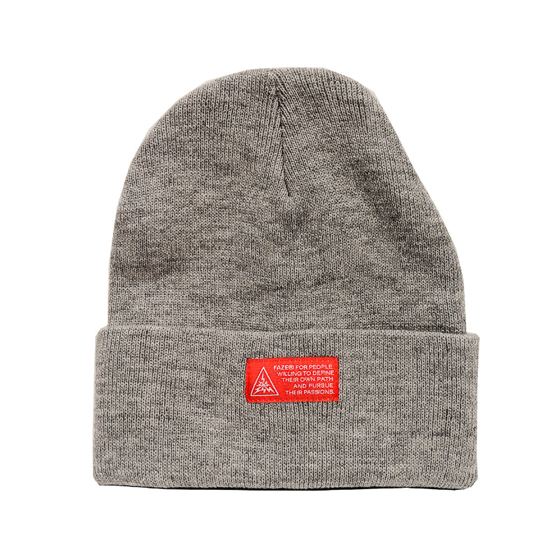 c313d24df29 FAZE Apparel - FAZE Mantra Beanie in athletic grey