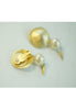 Vintage Norma Jean Baroque Pearl Dangly Earrings
