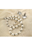Laguna Baroque Faux Pearl Earrings