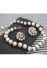 Vintage Laguna Baroque Faux Pearl Necklace