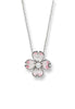 ENAMEL DOGWOOD FLOWER NECKLACE
