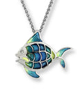 ENAMEL TOPICAL FISH NECKLACE