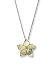 ENAMEL STEPHANOTIS FLOWER NECKLACE