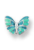 ENAMEL MINI BUTTERFLY EARRINGS