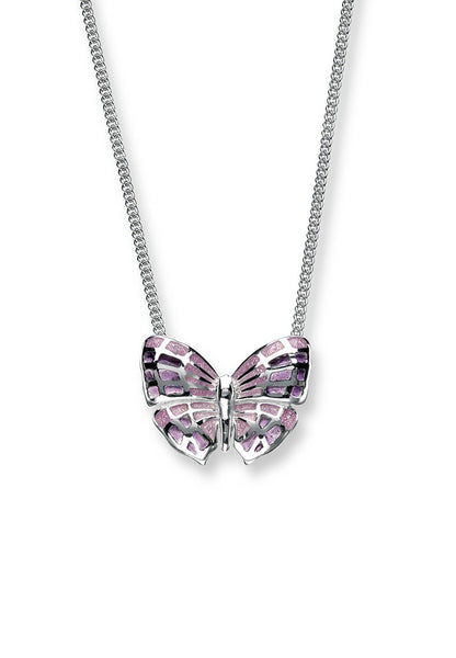 ENAMEL BUTTERFLY NECKLACE