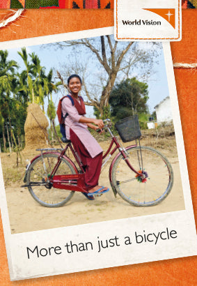 A bicycle for a girl
