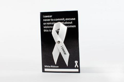 White Ribbon Ribbon