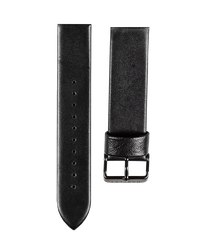 Hartley Black Leather Strap