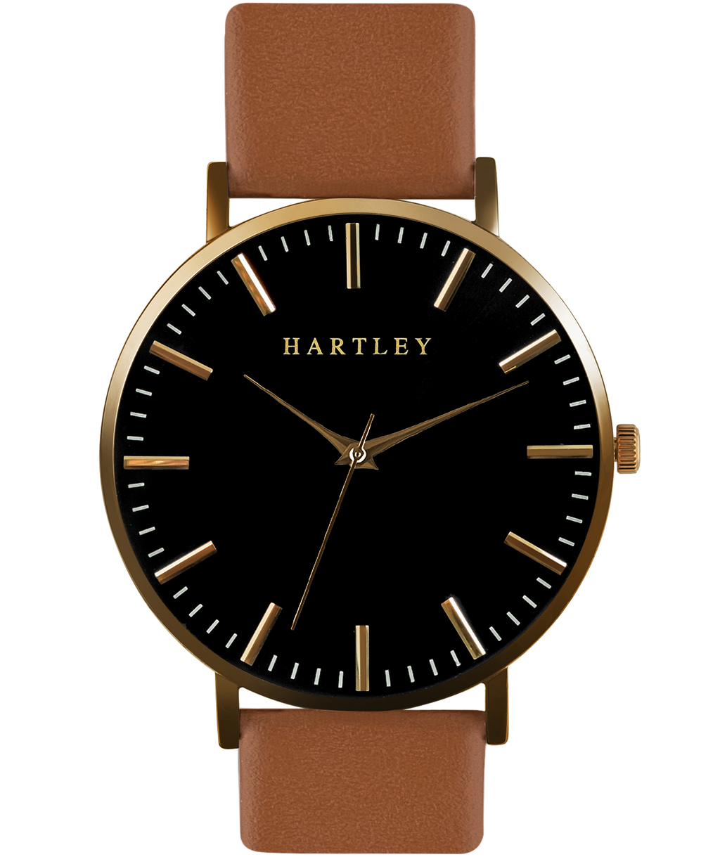 HARTLEY ORIGINALS Gold & Brown