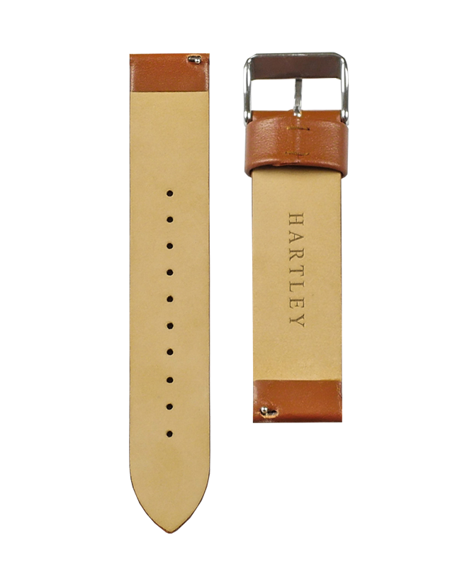 Hartley Brown Leather Strap