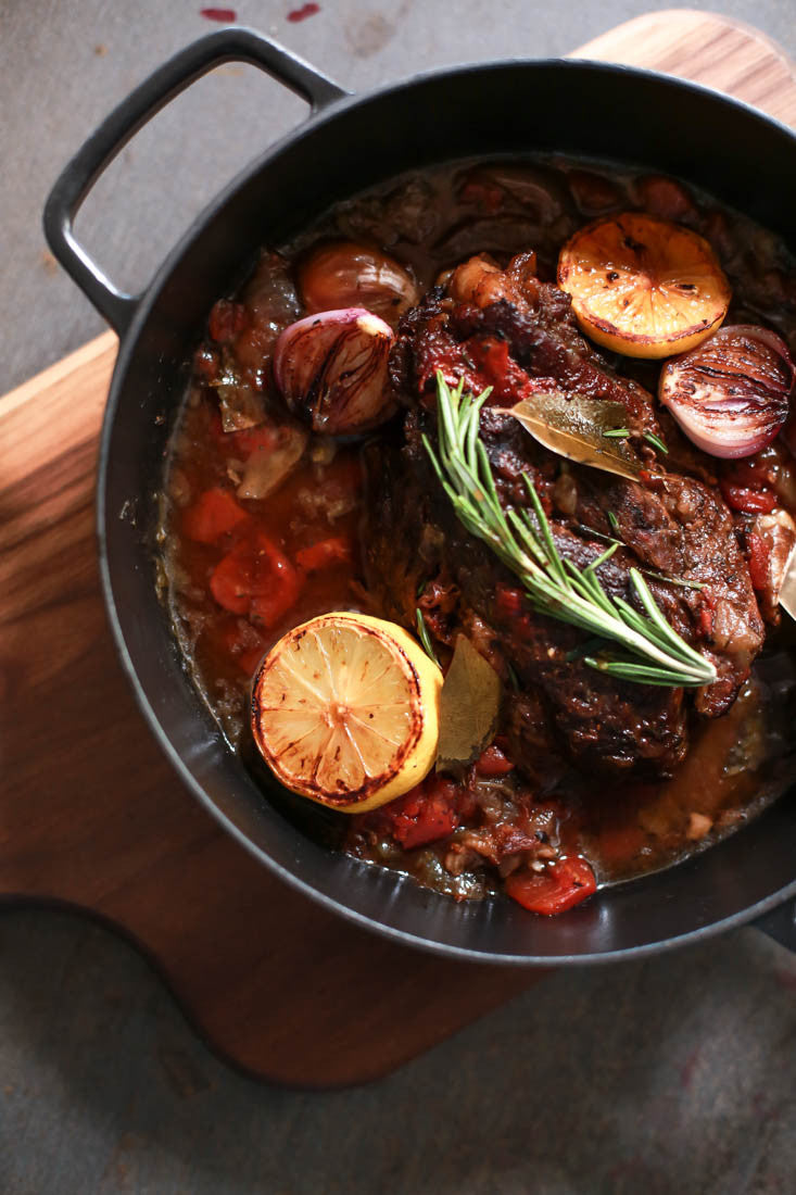 Pomegranate Pot Roast