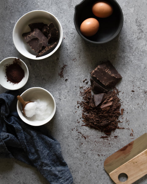 Ingredients for Chocolate Souffle