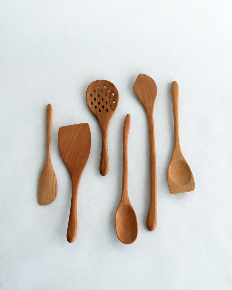 Wooden Spoons and Spatulas