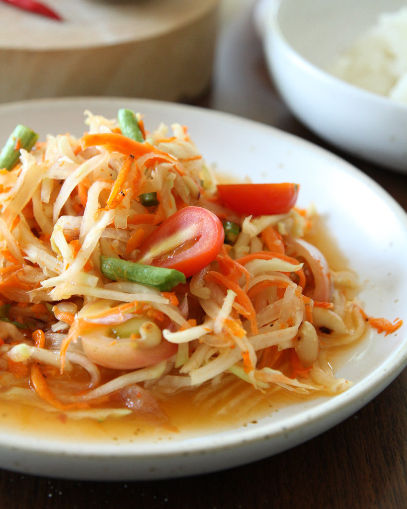 Thai Spicy Green Apple Salad