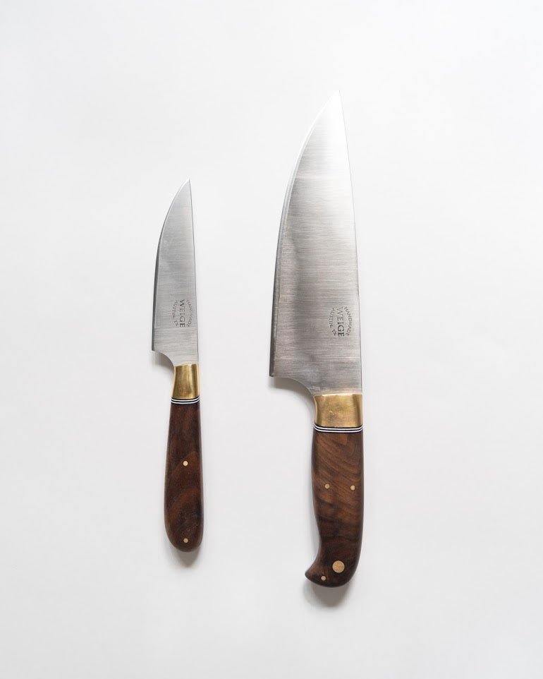 Limited Edition Walnut Burl Chef No. 5 and Utility No. 5