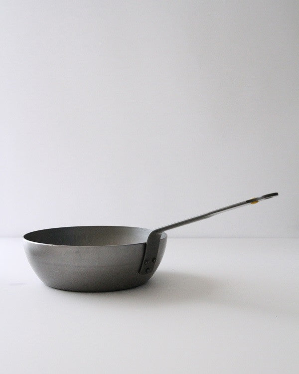 De Buyer Carbon Steel Country Chef Pan