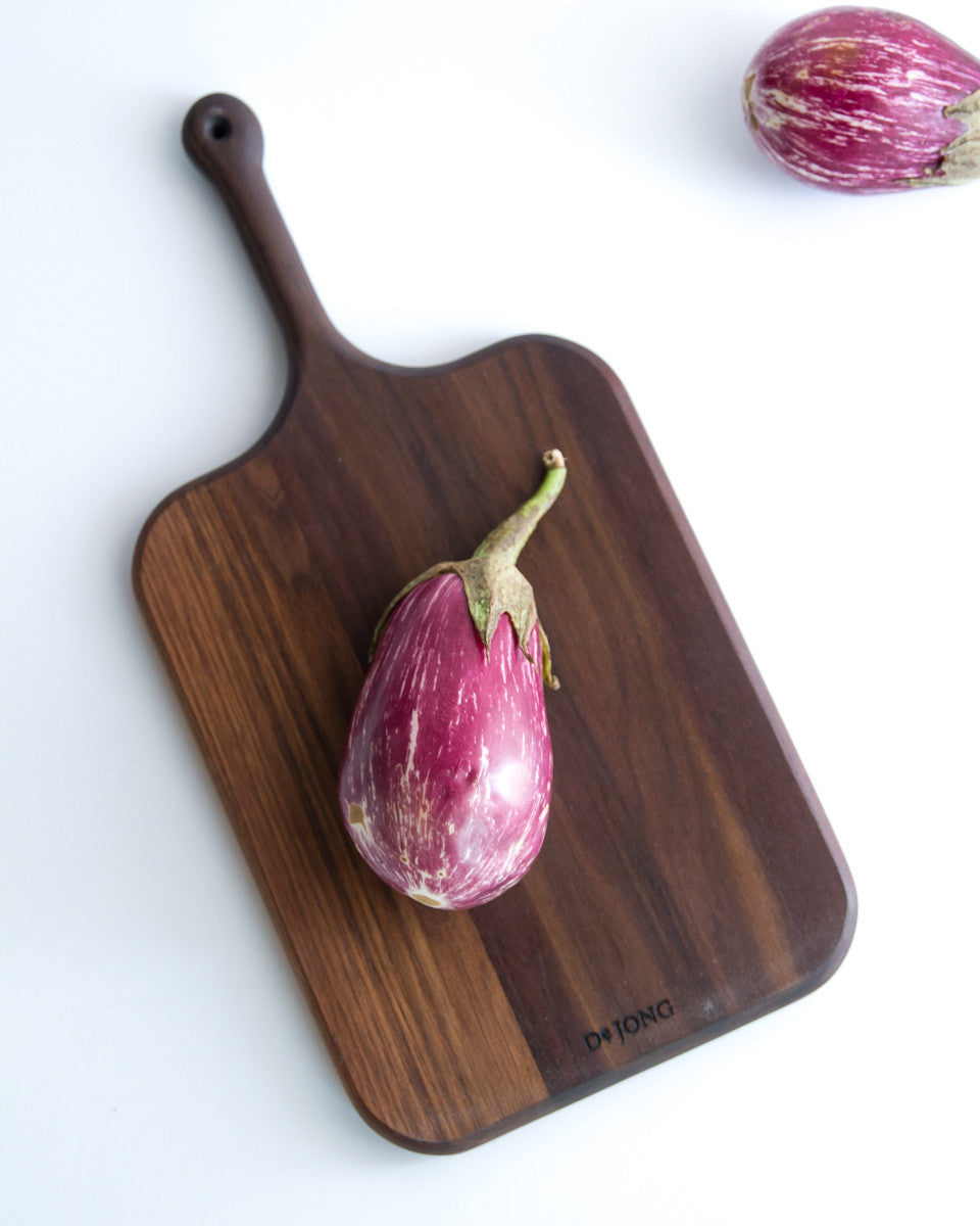 Handled Walnut Serving Board