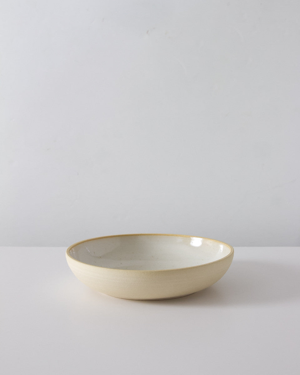 Everyday Handmade Bowl in Speckled White
