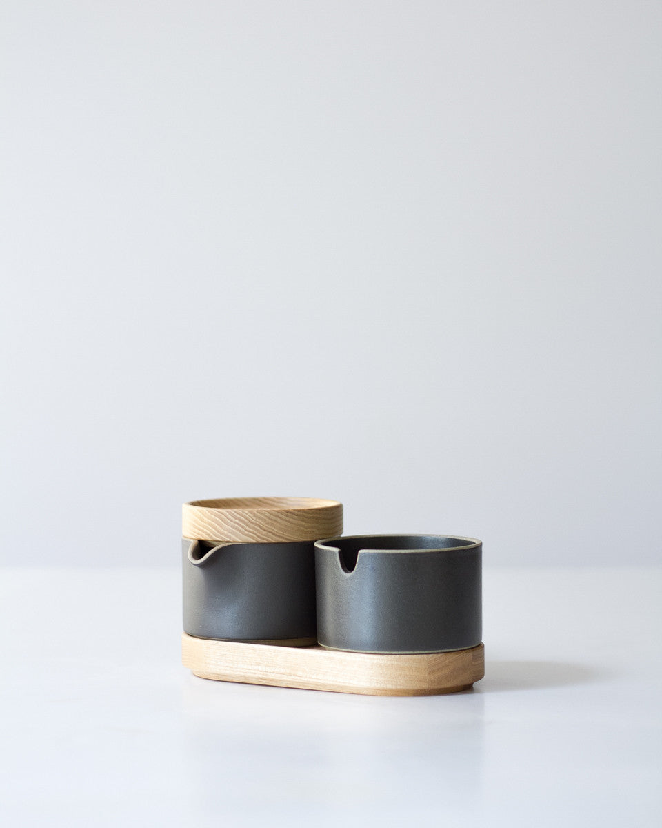 Hasami Cream and Sugar Pots