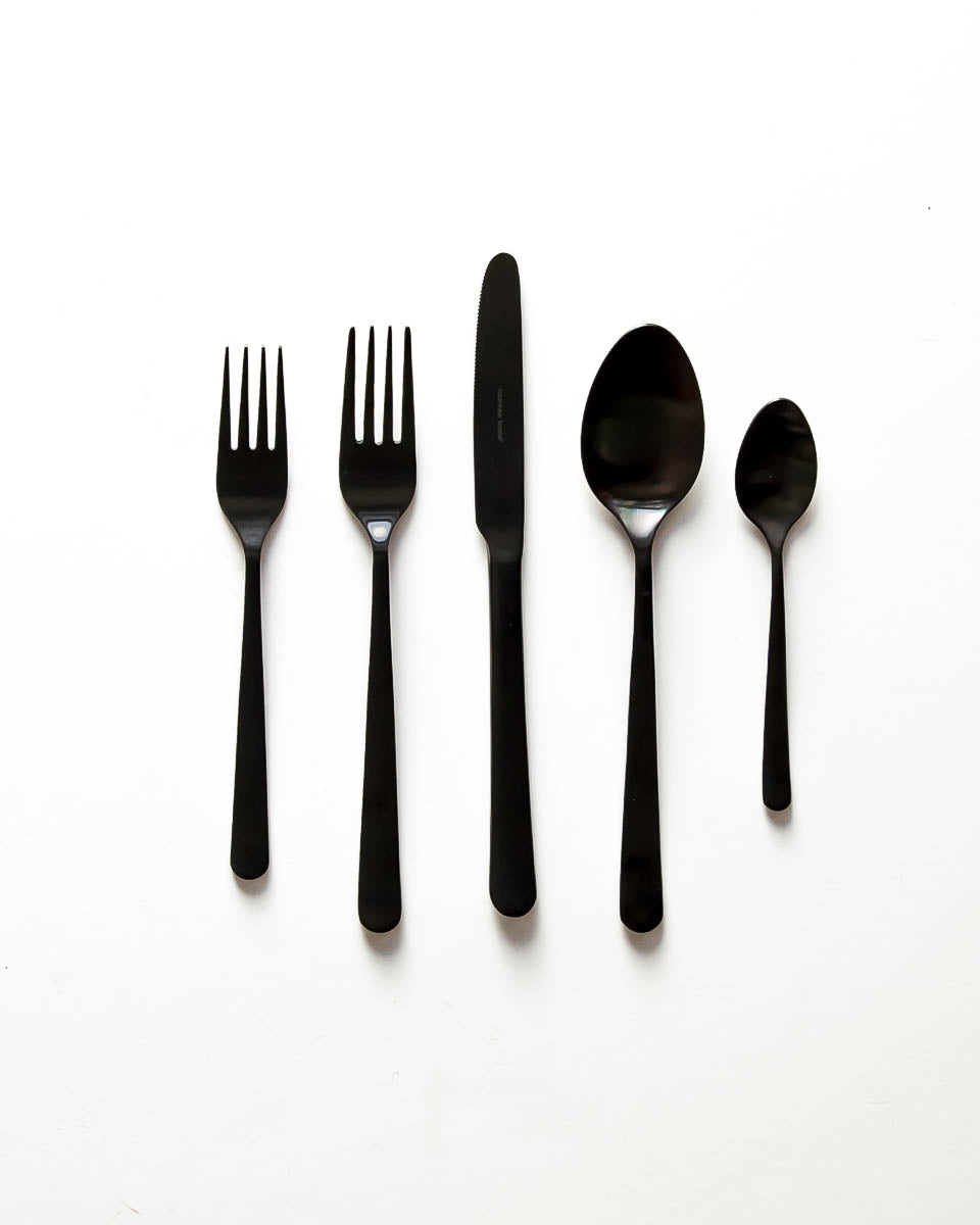 Oslo Flatware in Black