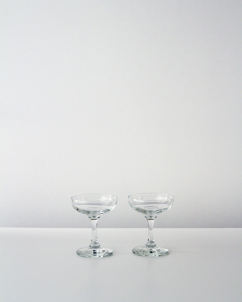 European Coupe Glasses (Set of 2)