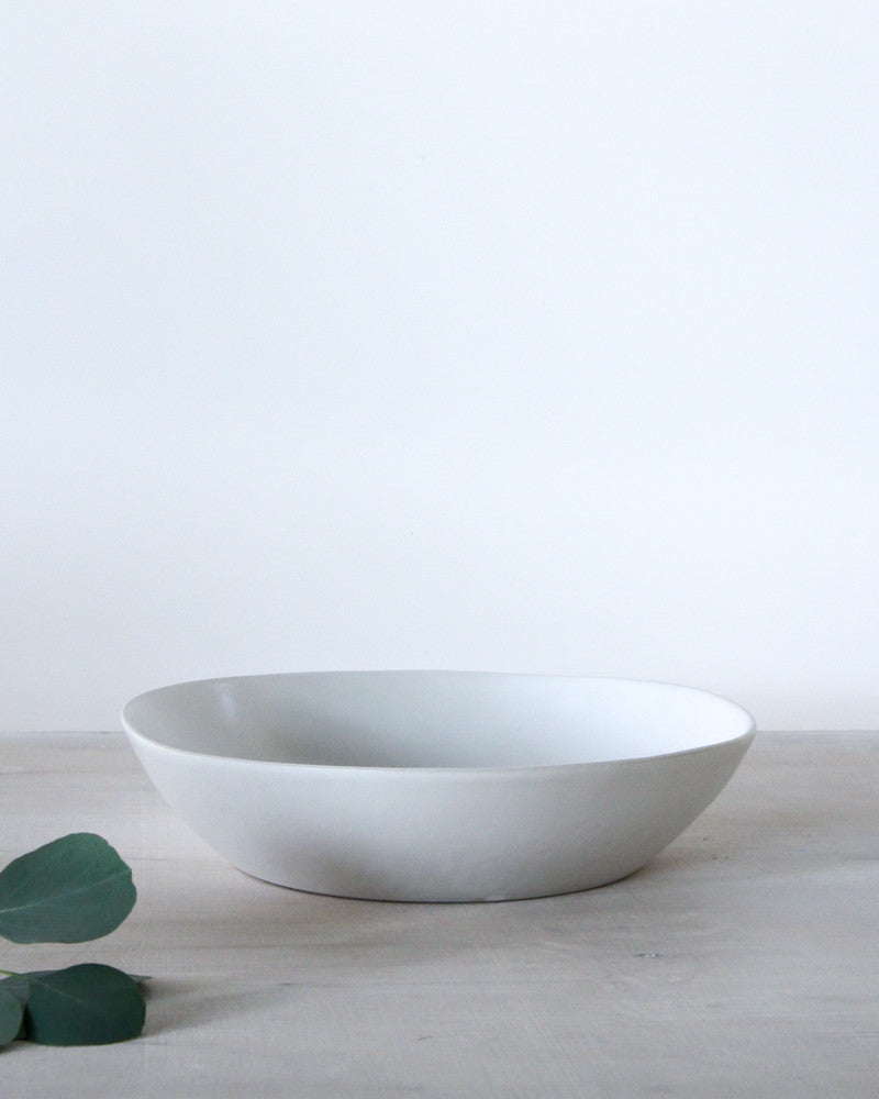 Large Shallow Serving Bowl